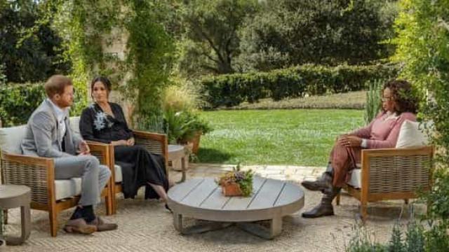 Oprah receberá R$ 40 mi por entrevista com príncipe Harry e Meghan Markle