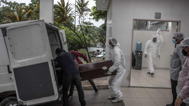 Brasil registra 1.054 mortes por Covid-19 nas últimas 24h e chega a 265,5 mil mortos