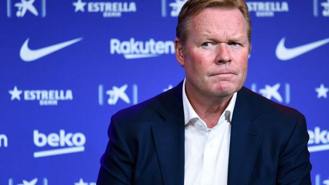 Com Koeman na corda bamba, treinador da Bélgica nega contato com Barcelona