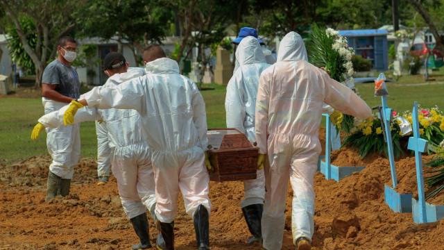Brasil registra novo recorde diário com 3.650 mortes por covid-19