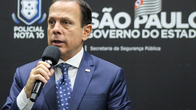 Doria diz que vai se mudar para o Palácio dos Bandeirantes após ameaças de extremistas