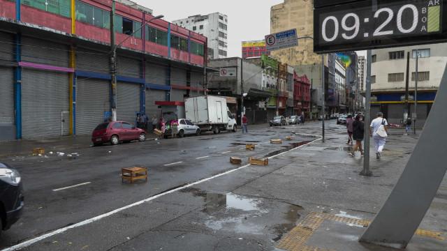 Índice de isolamento aumenta pouco, mesmo com redução de carros nas ruas