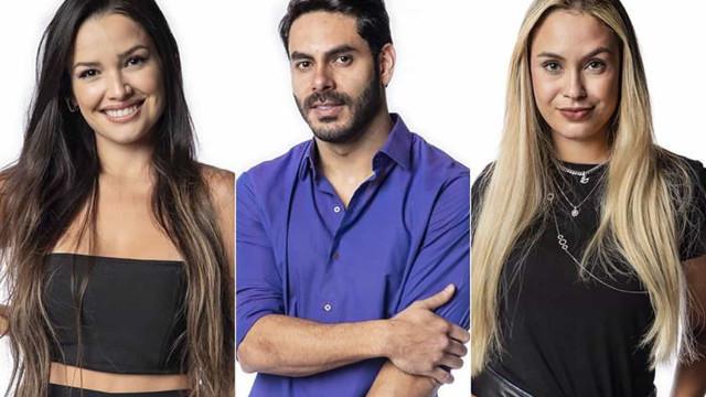 """Juliette, Rodolffo e Sarah estão no Paredão no """"BBB21"""""""