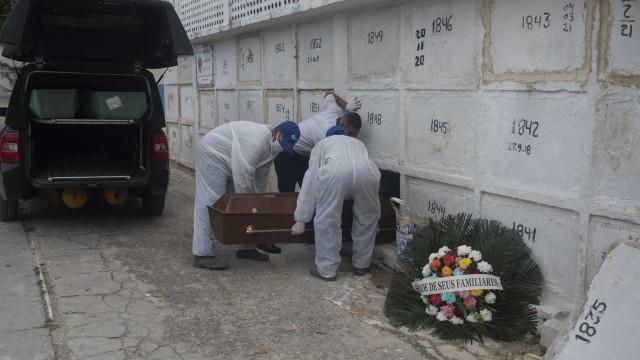 Brasil registra mais 2.392 mortes por Covid-19 em 24h