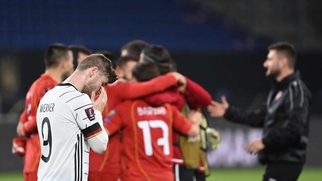 Alemanha cai diante da Macedônia e perde jogo de Eliminatórias após 20 anos