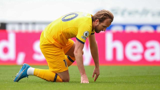 Kane faz 2 gols, mas Tottenham só empata com o Newcastle pelo Inglês
