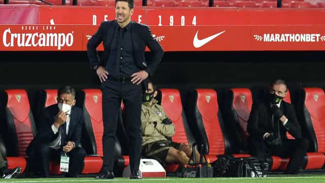 Atlético de Madrid perde do Sevilla e vantagem na ponta pode cair para um ponto