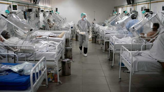 Casos de covid-19 no Brasil aumentam 701% entre janeiro e março, diz Fiocruz