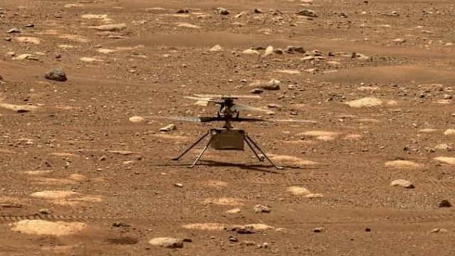Primeiro voo de Marte está agendado para esta segunda-feira