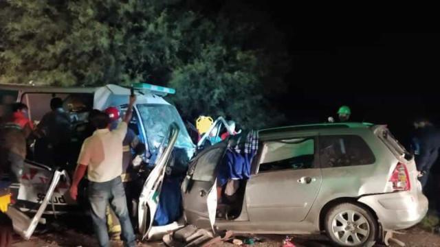 Colisão faz oito mortos na Argentina. Três crianças entre as vítimas