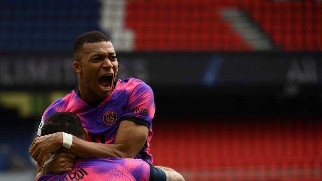 Mbappé tem lesão na panturrilha e vira dúvida para semifinal da Champions