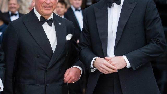 Príncipe Charles ficou 'explodindo de raiva' com ataques do filho Harry
