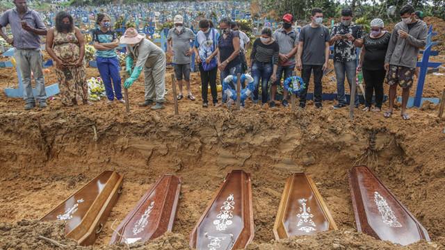 Brasil registra 3.481 mortes por Covid em 24 h e chega a 14 milhões de casos