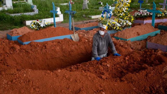 Brasil registra 2.070 mortes por covid nas últimas 24h; média móvel fica em 2.543