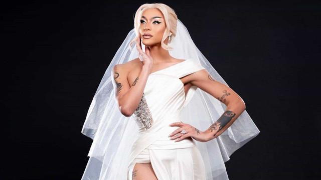 Vestido de noiva de Pabllo Vittar é avaliado em mais de R$ 500 mil