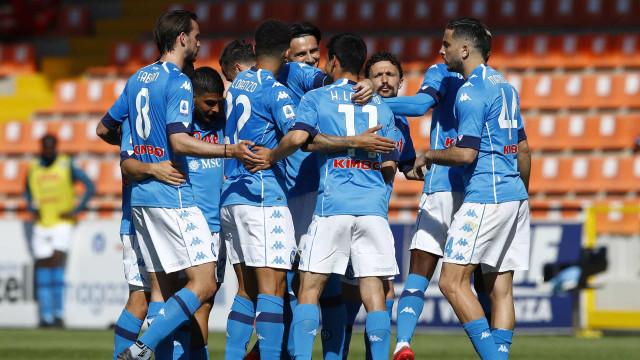 Napoli goleia o Spezia e assume a vice-liderança do Campeonato Italiano