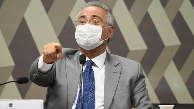 Renan diz que resposta a ataques de Bolsonaro é o 'número de mortos pela covid'