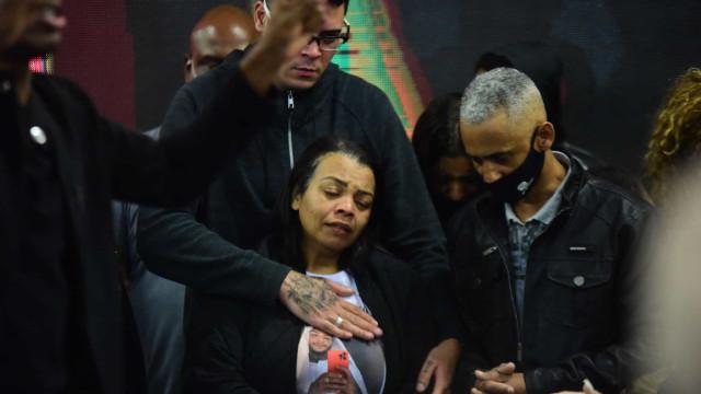 Mãe de MC Kevin diz que filho deixa saudade, amor e carinho