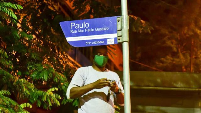 Sindicato diz que alteração de nome de rua para Paulo Gustavo vai gerar prejuízos