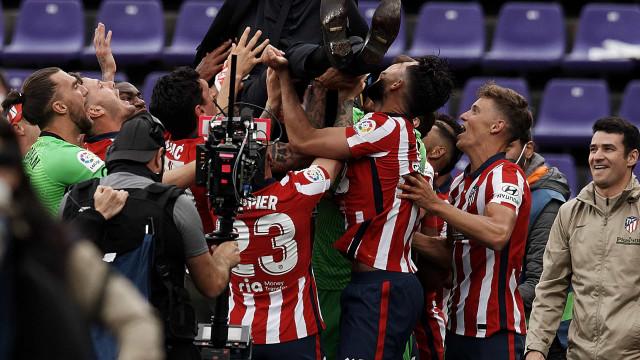 Atlético de Madrid vira sobre Valladolid e conquista o Espanhol pela 11ª vez