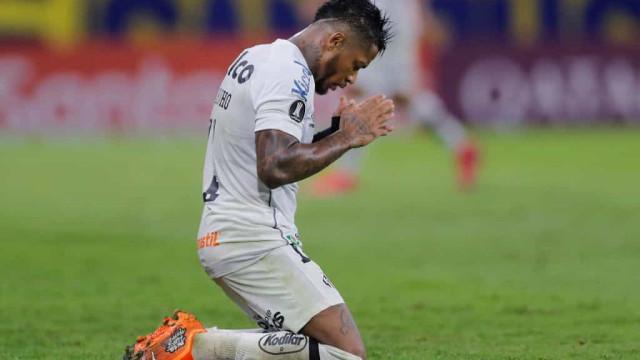 Marinho está recuperado de lesão, mas não reforça o Santos em Guayaquil