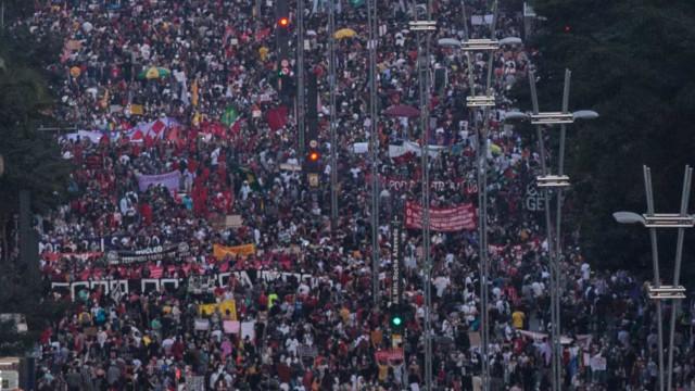 Vídeo de 2016? Bolsonaristas minimizam ato contra o governo na Paulista