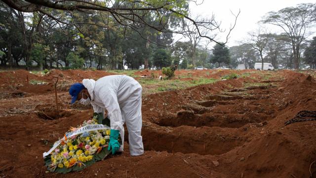 Brasil registra 2.008 mortes e 75.778 novos casos por Covid-19 em 24 h