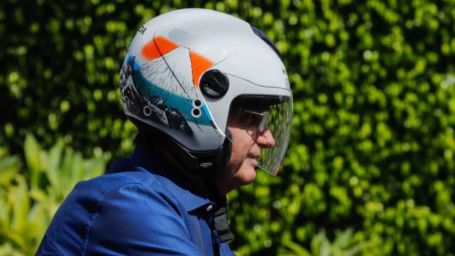 Bolsonaro participa de passeio de motocicleta em Presidente Prudente