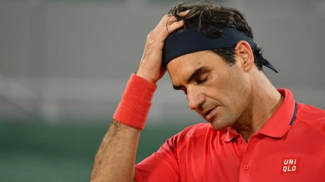 Classificado, Federer desiste de competir em Roland Garros
