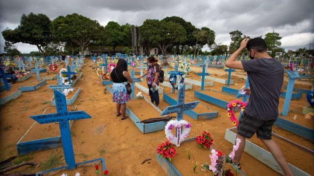 Brasil registra 433 mortes por covid-19 em 24 horas; média móvel é de 346