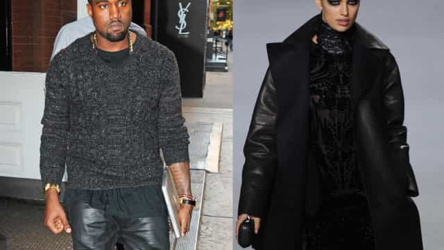Kanye West estaria vivendo romance com Irina Shayk