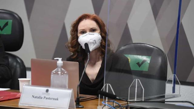 Não há como mensurar quantos morreram por desinformação, afirma Pasternak na CPI