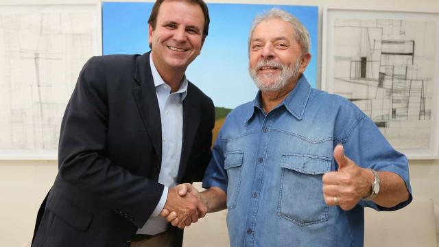 Lula almoça com Paes, que aposta em presidente da OAB para o governo no Rio