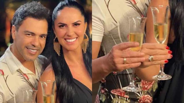 """Graciele Lacerda anuncia noivado com Zezé Di Camargo: """"nova etapa"""""""