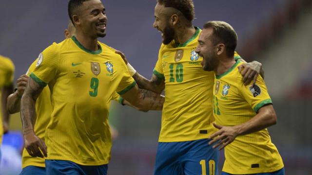 Brasil abre Copa América com vitória sobre a desfalcada Venezuela