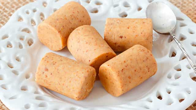 Receita Junina: Paçoca com Biscoito