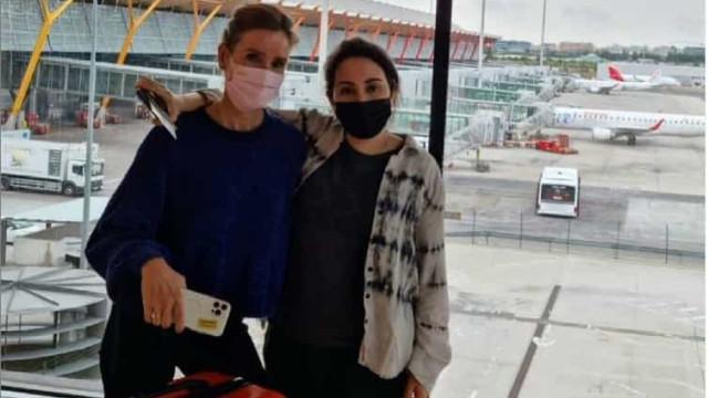 Desaparecida? Princesa de Dubai é fotografada em aeroporto de Madrid