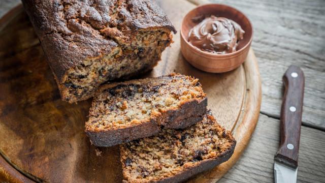 Pão de manteiga de amendoim e chocolate. Consegue resistir?