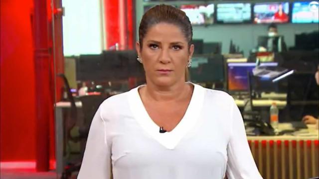 Christiane Pelajo se irrita e ameaça deixar jornal em vídeo vazado