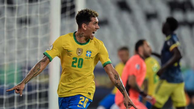 Brasil sofre, mas vence Colômbia de virada e mantém 100% na Copa América