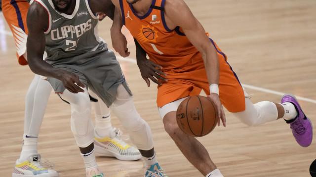 Suns superam Clippers em jogo nervoso e ficam a uma vitória do título do Oeste