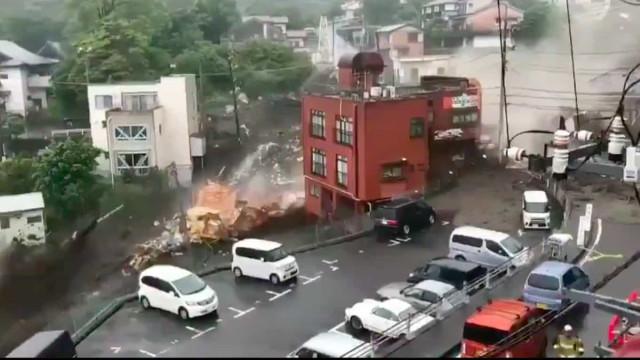 Japão: Deslizamento após fortes chuvas deixam 2 mortos