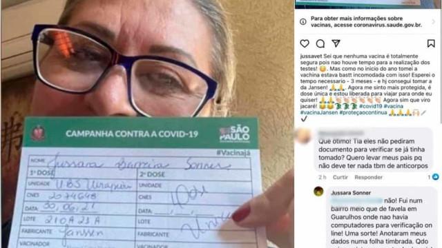 Veterinária diz ter burlado fila e tomado três vacinas contra Covid