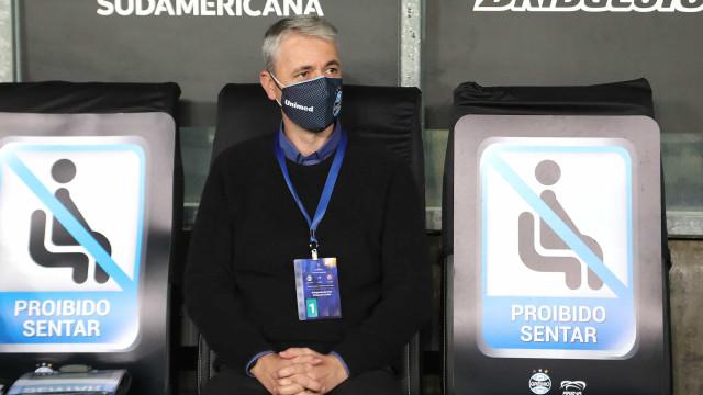 Grêmio acerta saída de Tiago Nunes e pensa na volta de Luiz Felipe Scolari