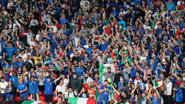 Final da Euro teve um 'super-espalhamento' da covid-19, diz agência britânica