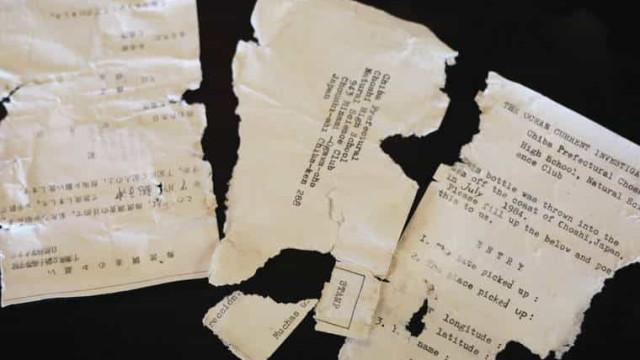 Mensagem em garrafa enviada do Japão é encontrada no Havai 37 anos depois