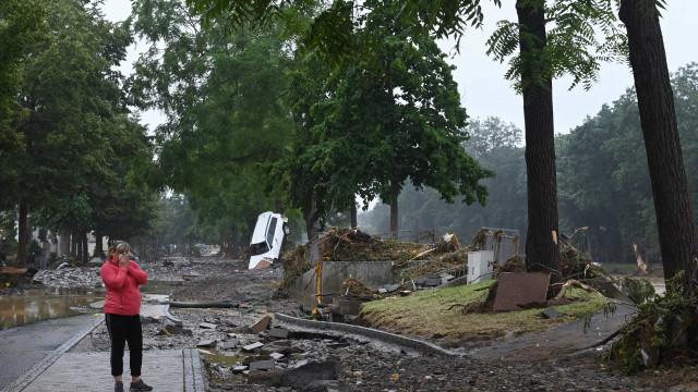 Chuvas deixam ao menos 59 mortos e dezenas de desaparecidos na Alemanha