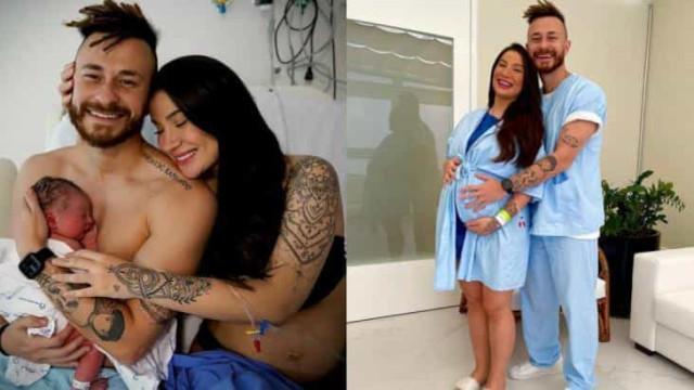 Bianca Andrade, a Boca Rosa, dá à luz primeiro filho com Fred