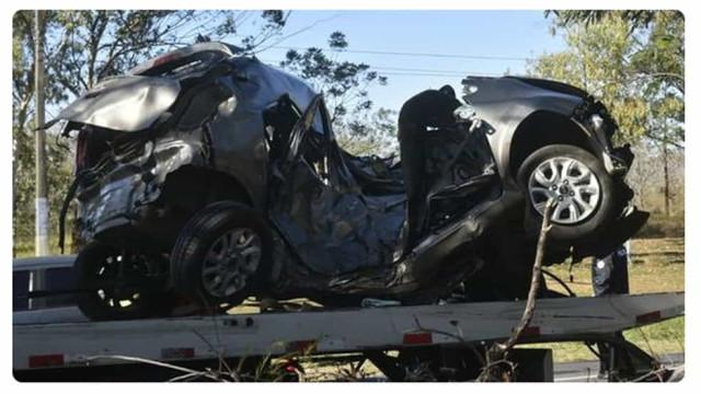 Filho do ex-jogador Arce morre em acidente de carro no Paraguai
