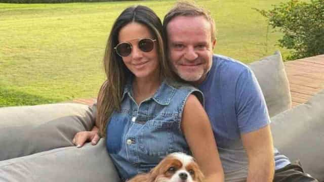 Rubens Barrichello e Paloma Tocci terminam namoro após cerca de um ano